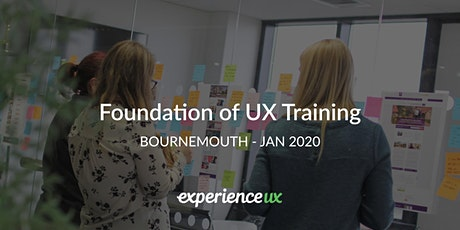 Foundation of UX Training tickets
