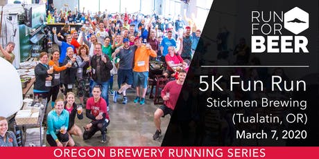 Stickmen Brewing (Tualatin) 5k Fun Run tickets