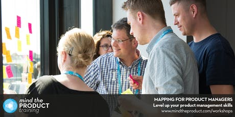 Mapping for Product Managers Training Workshop - Berlin  tickets