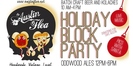 Holiday Block Party at Batch - Craft Beer & Kolaches and Oddwood Ales tickets
