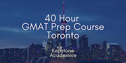 GMAT Prep Course Toronto   Tuesdays - Thursdays   Kapstone Academics