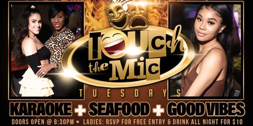 Touch The Mic Tuesday & The Afterparty at Cafe Iguana Pines