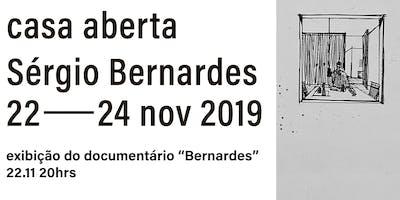 """Casa Aberta: Sérgio Bernardes, exibição do documentário """"Bernardes"""""""