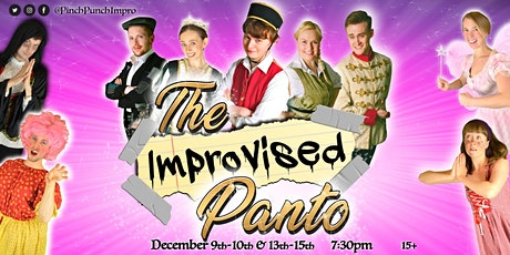 The Improvised Panto tickets
