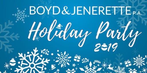 Boyd & Jenerette Holiday Party 2019
