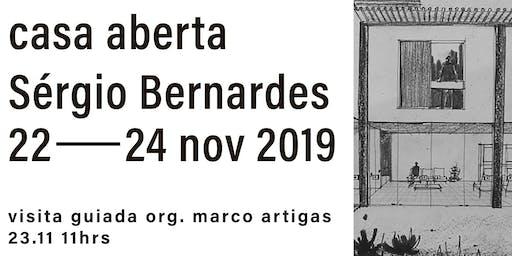 Casa Aberta: Sérgio Bernardes, visita guiada