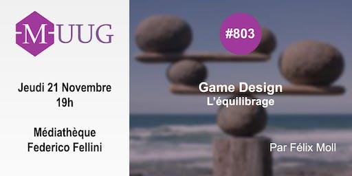 MUUG#803 - L'équilibrage avec Félix Moll
