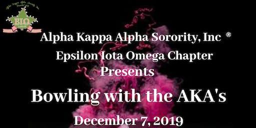Bowling with the AKA's (Epsilon Iota Omega Chapter)