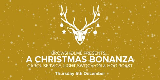 A Christmas Bonanza: Carol Service, Light Switch-on & Hog Roast