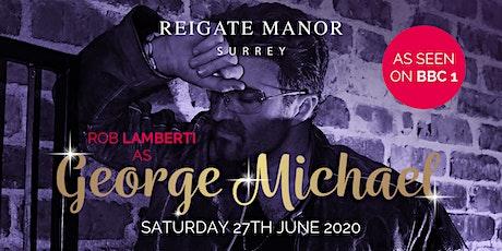 Rob Lamberti as George Michael tickets