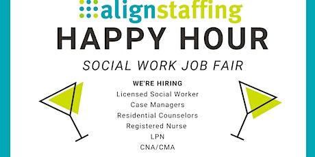 Social Service Happy Hour Job Fair tickets