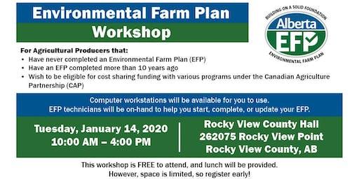 Environmental Farm Plan Workshop