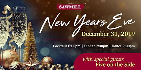 New Years Eve Party Featuring Five On The Side (Live) tickets