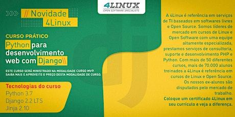 Curso: Python para desenvolvimento web com Django - 4Linux ingressos