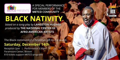 "METCO Presents: ""Black Nativity"""