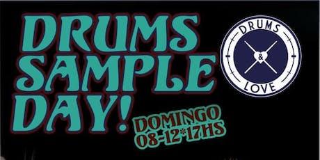 Drums Sample Day Diciembre 2019 entradas