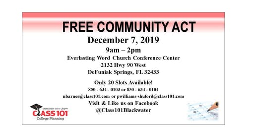 FREE Community ACT (Walton County)