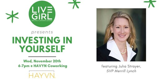 """""""Investing in Yourself"""" Young Professionals Workshop"""