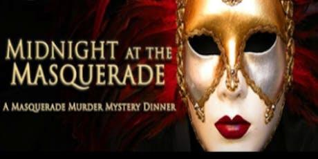 Midnight at the Masquerade Murder Mystery Dinner tickets