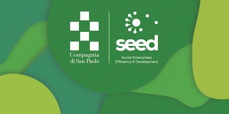 Workshop sulle consulenze e metriche + Help desk per il bando Seed  2019 tickets