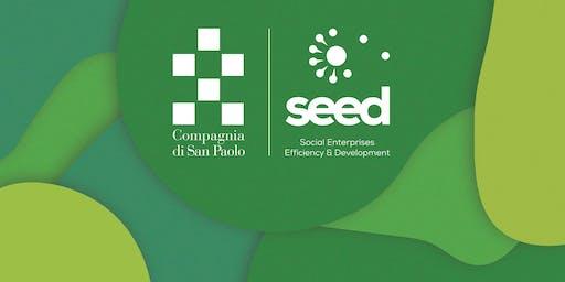 Workshop sulle consulenze e metriche + Help desk per il bando Seed  2019