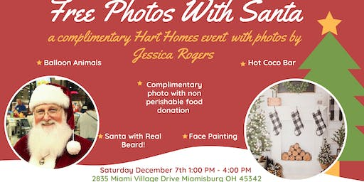 Hart Homes Free Photos with Santa 2019