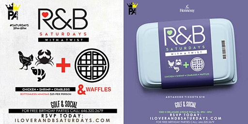 I Love R & B Saturdays | powered by: PADRIVENOW.COM + Homeline Ent