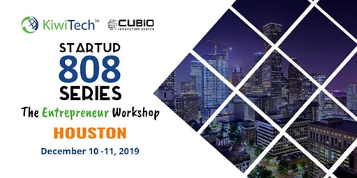 Startup Founders 808 Series - Entrepreneur Workshop (Dec. 10 & 11)