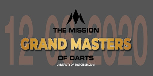 The Mission Grand Masters of Darts 2020