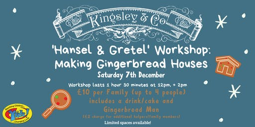 'Hansel & Gretel'  Workshop : Making a Gingerbread House
