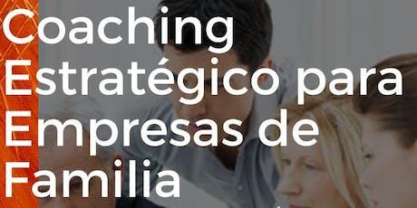 WORKSHOP  COACHING ESTRATEGICO PARA EMPRESAS DE FAMILIA entradas