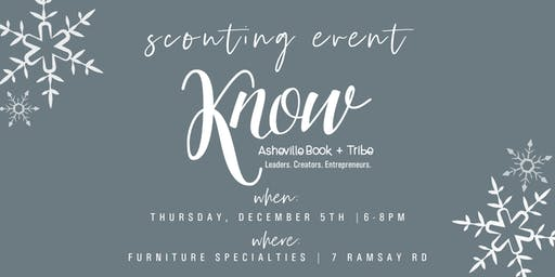 KNOW Asheville Scouting + Holiday Event