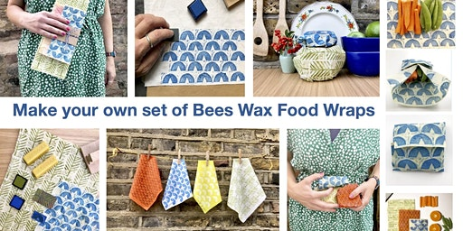 Make and Print Your Own Bees Wax Food Wraps