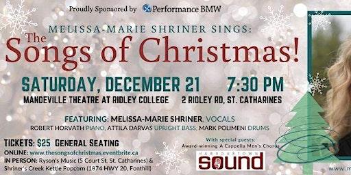 Melissa-Marie Shriner sings The Songs of Christmas!