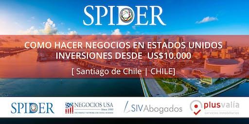 COMO HACER NEGOCIOS EN ESTADOS UNIDOS. Inversiones desde US$ 10.000 [Santiago de Chile | CHILE ]