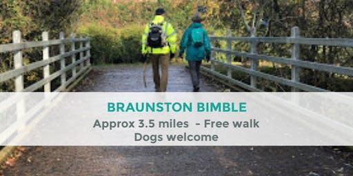 BRAUNSTON BIMBLE   APPROX 3.5 MILES   MODERATE   NORTHANTS