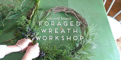 Foraged Holiday Wreath Workshop
