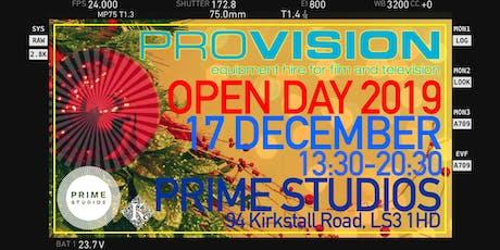 ProVision Open Day 2019 @ Prime Studios tickets