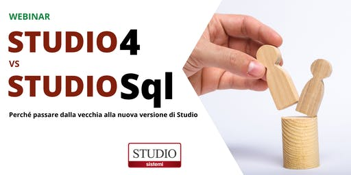 Webinar STUDIO 4 versus STUDIO SQL