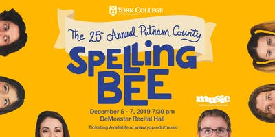 Musical Theatre Production:  The 25th Annual Putnam County Spelling Bee