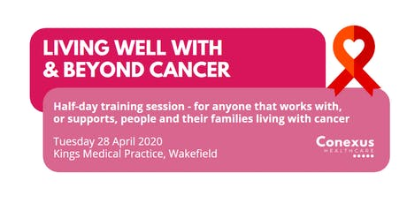 Living well with and beyond Cancer tickets