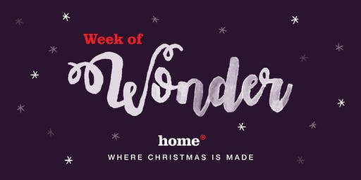 The week of Christmas Wonder at Home