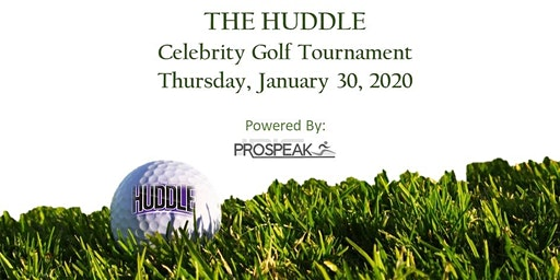 The Huddle Celebrity Golf Tournament