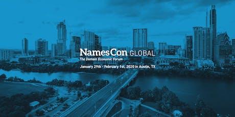 NamesCon Global 2020 tickets