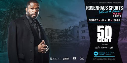 "Rosenhaus Sports ""Welcome to Miami"" Kickoff Party"