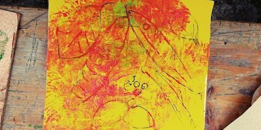 Impronte -laboratorio artistico per bambini
