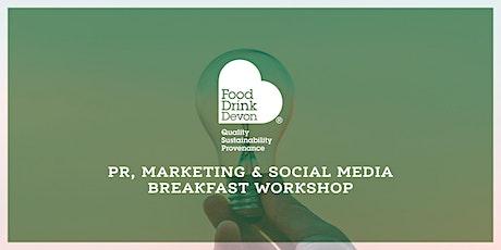 PR, Marketing and Social Media Workshop tickets