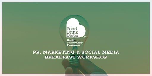 PR, Marketing and Social Media Workshop