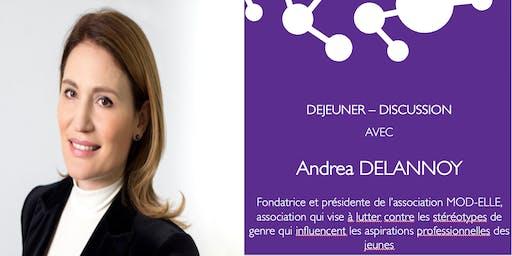 LS - Déjeuner-discussion Andrea Delannoy