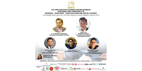 The 33rd Investor Gathering Bizcom Indonesia tickets